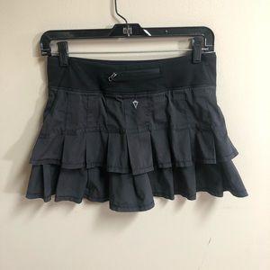 Ivivva by Lululemon Set the Pace Running Skirt